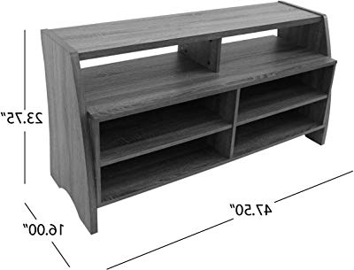 Latest Wakefield 85 Inch Tv Stands Regarding Amazon: Southern Enterprises Apothecary Console/tv Stand – Brown (Gallery 17 of 20)