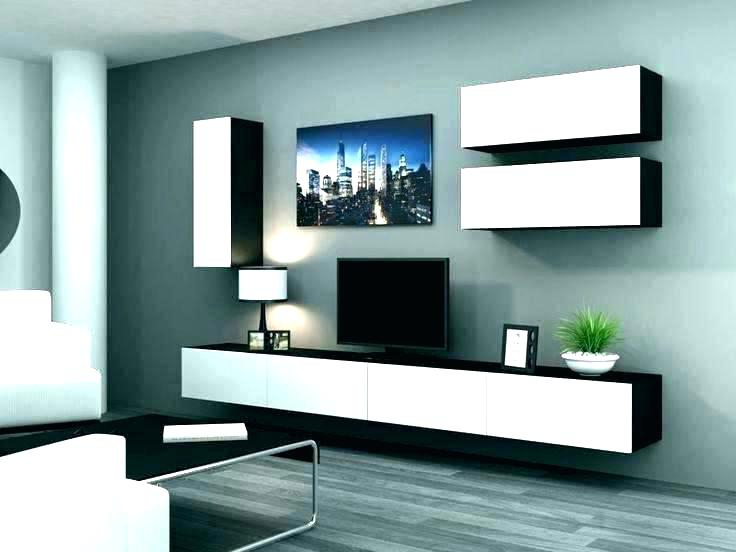 Latest Wall Mounted Flat Screen Tv Cabinet Interior Furniture Mount With Regarding Wall Mounted Tv Cabinets For Flat Screens (View 5 of 20)
