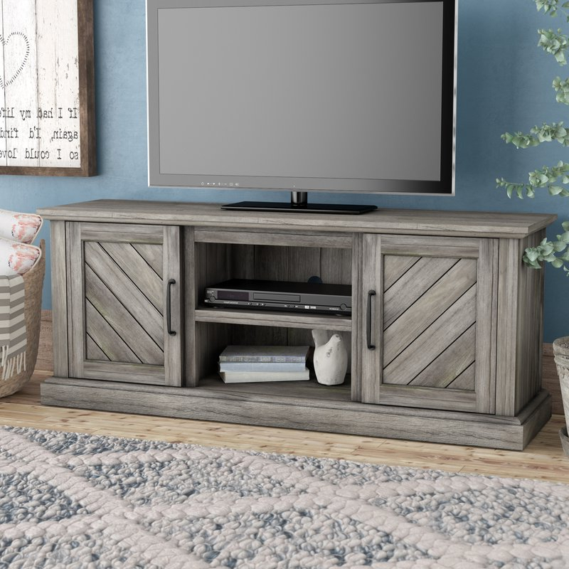 "Laurent 60 Inch Tv Stands With 2017 Gracie Oaks Liu Tv Stand For Tvs Up To 60"" & Reviews (View 10 of 20)"