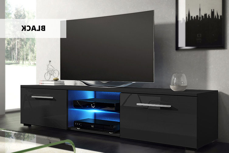 Led Tv Cabinets Regarding Most Up To Date Tenus Led Tv Cabinet – 4 Colours! (Gallery 17 of 20)