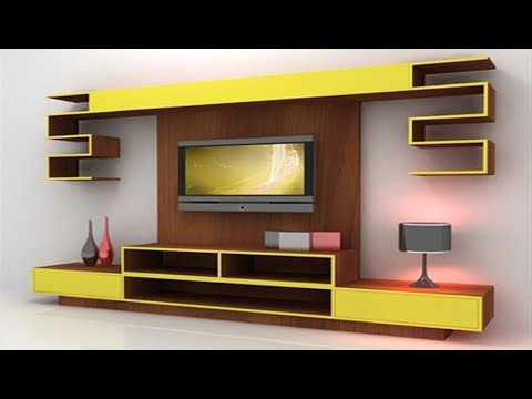 Led Tv Cabinets With Trendy 30 Mosdern Wall Mounted Led Tv Cabinet Designs 2017, Lcd Tv Stand (Gallery 5 of 20)