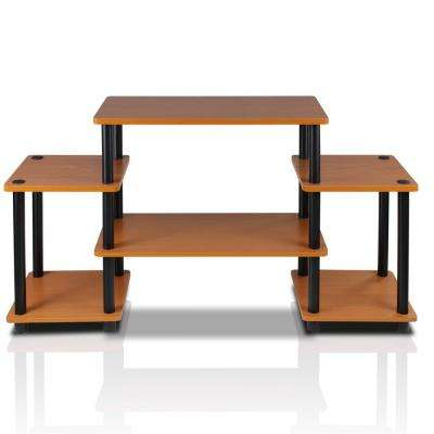 Light Cherry – Tv Stands – Living Room Furniture – The Home Depot Regarding Most Popular Light Cherry Tv Stands (View 8 of 20)
