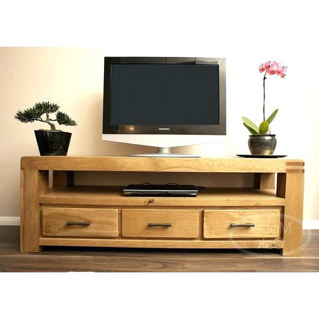Light Oak Tv Stands Flat Screen Intended For Preferred Light Oak Television Stands Flat Screen S Modern Target Tv Stand (Gallery 1 of 20)
