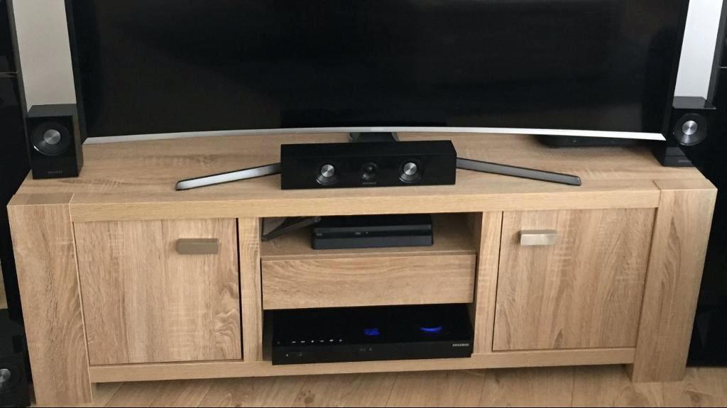 Light Oak Tv Stands Flat Screen Regarding Best And Newest Light Oak Television Stands Light Oak Stand Corner Unit Light Honey (Gallery 15 of 20)