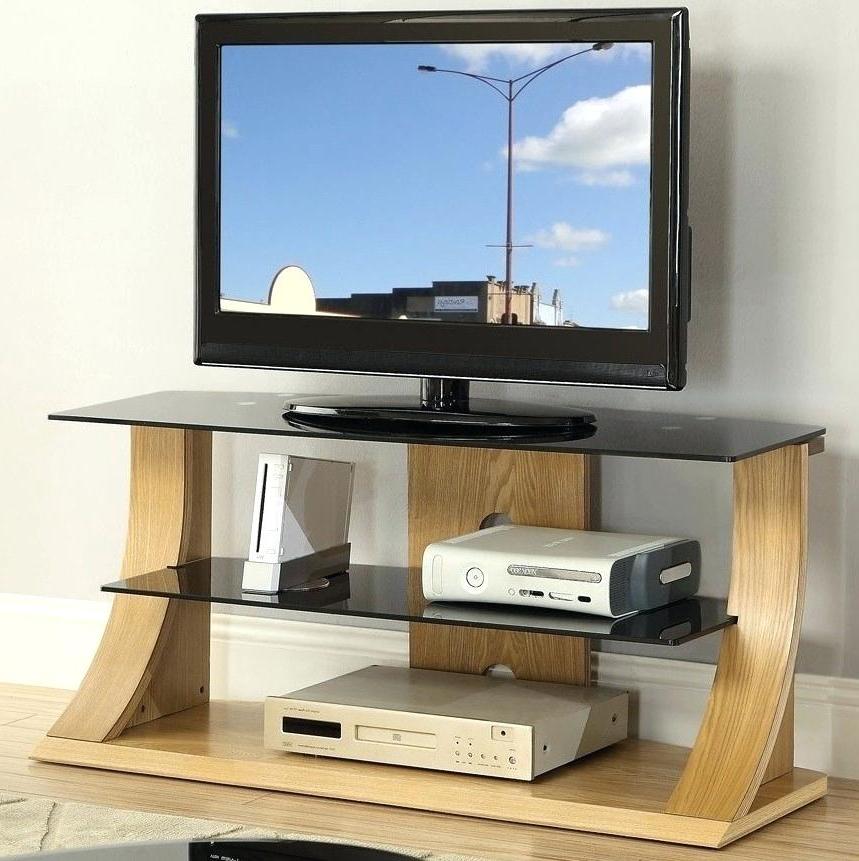Light Oak Tv Stands Flat Screen Regarding Latest Light Oak Tv Stand – Hairsalonstudio (View 9 of 20)