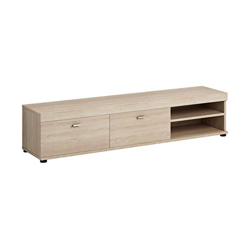 Light Oak Tv Unit: Amazon.co.uk Intended For Trendy Light Oak Tv Cabinets (Gallery 7 of 20)