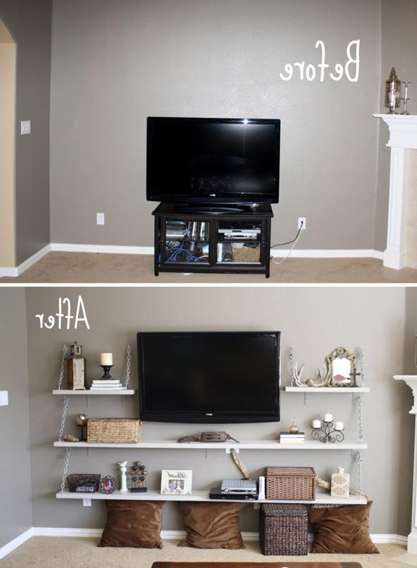 Living Room Designs Intended For Favorite Tv Stands For Small Rooms (Gallery 1 of 20)