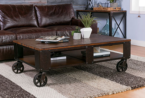 Living Spaces Pertaining To 2018 Noah Rustic White 66 Inch Tv Stands (View 13 of 17)