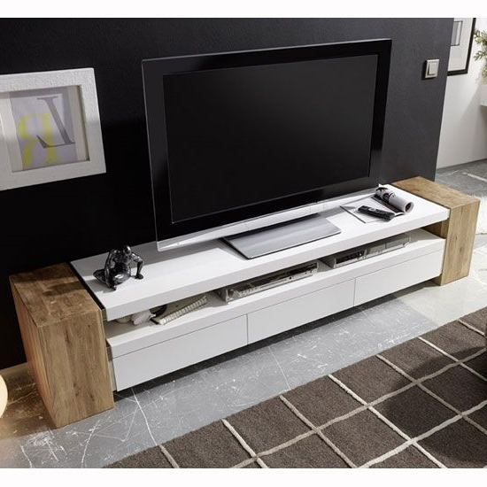 Living With Rectangular Tv Stands (View 9 of 20)