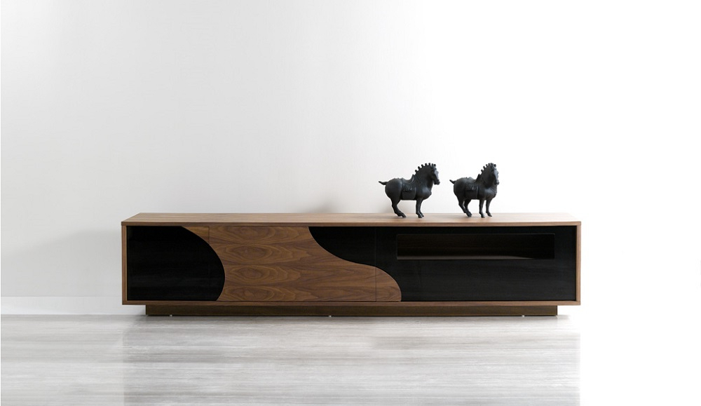 Long Black Tv Stands For Popular Tv Stands (Gallery 9 of 20)