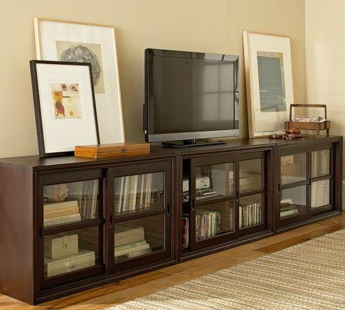 Long Tv Stands Furniture With Regard To Most Popular Long Tv Stand With 20 Photos Extra Stands Cabinet And Ideas Plans  (View 12 of 20)