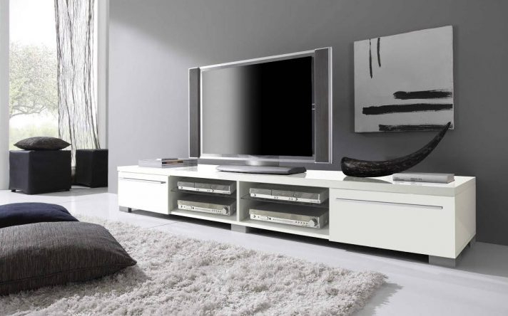 Long Tv Stands, Low Stand Ebay, S L1000 Pertaining To Extra Stands For Well Known Long Low Tv Stands (View 14 of 20)