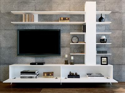 Long White Tv Cabinets Intended For Most Current Quality Large Tv Cabinet. This Luxury White Tv Stand Ample (Gallery 7 of 20)