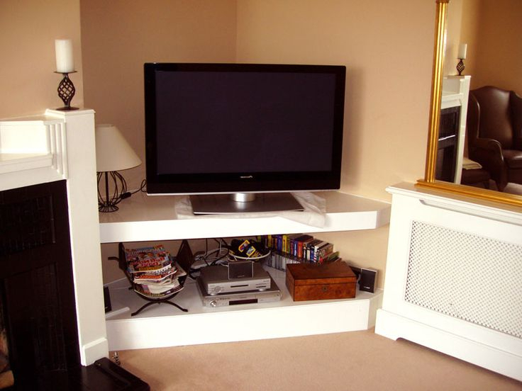 Low Corner Tv Stands Regarding Famous 16 Best Rack Images On Pinterest (View 13 of 20)