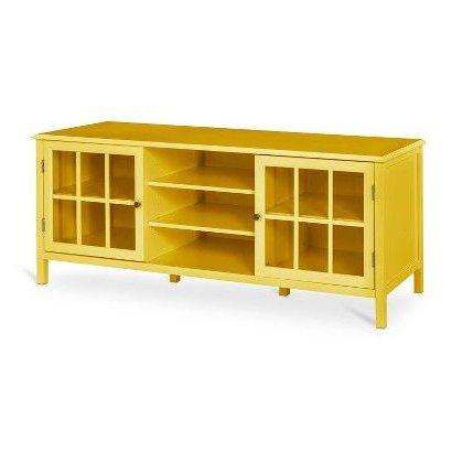 Lr: I Wasn't Intending To Suggest A Target Tv Stand But I'd Be Intended For Fashionable Yellow Tv Stands (View 7 of 20)