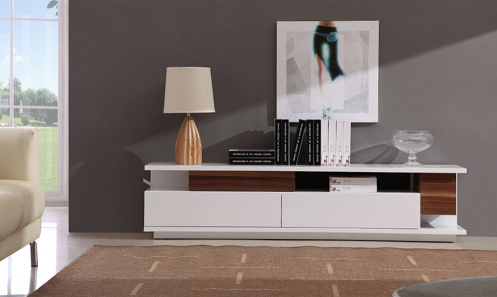 Lumen Home Designslumen Home Designs Regarding Modern White Lacquer Tv Stands (View 14 of 20)