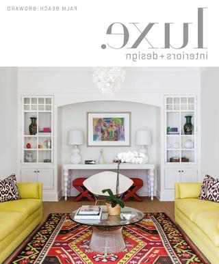Luxe Magazine May 2017 Palm Beachsandow® – Issuu With Popular Kilian Black 74 Inch Tv Stands (View 14 of 20)
