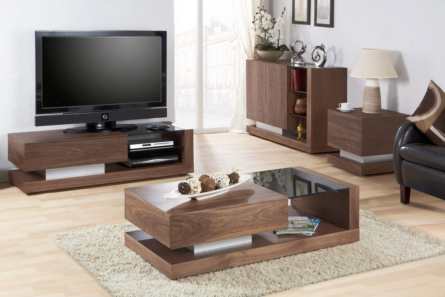 Luxurious Tv Stands And Tables Hafeznikookarifund, Coffee Table And With Regard To Preferred Coffee Table And Tv Unit Sets (Gallery 8 of 20)