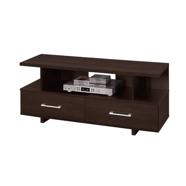 Maddy 50 Inch Tv Stands For Well Known Shop Monarch Specialties I 2606 47 Inch X 15 Inch Wood Tv Stand (View 12 of 20)