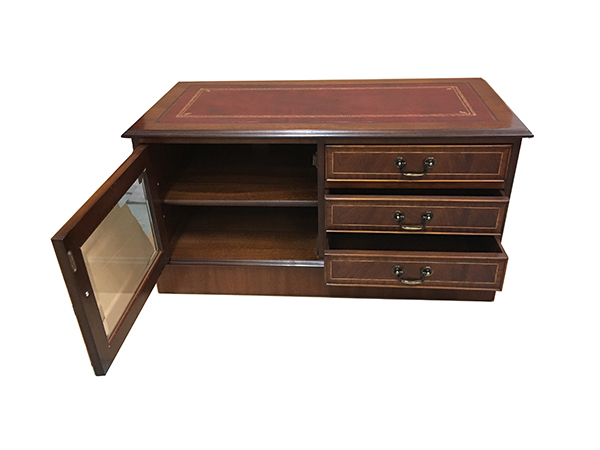 Mahogany Tv Cabinets With Most Recently Released Reproduction Dvd And Plasma Lcd Television Cabinets, Stands – Yew (View 10 of 20)