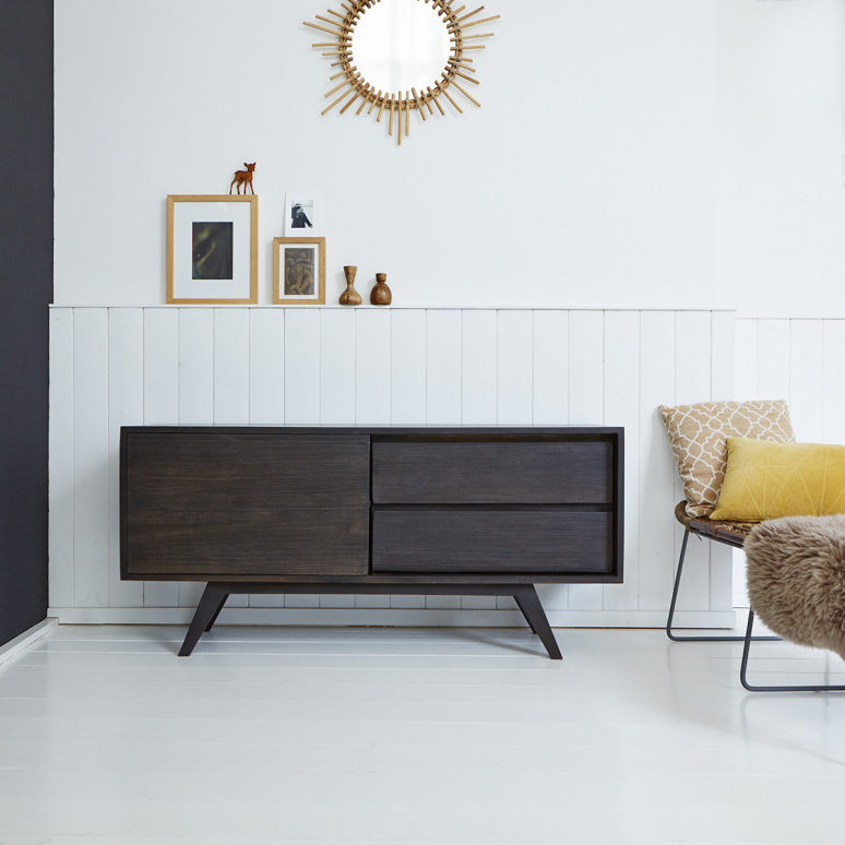 Mango Wood Sideboard – Moka Sideboard Sale At Tikamoon With Most Recent Sideboard Tv Stands (Gallery 9 of 20)