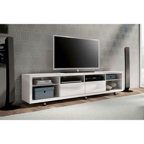 Manhattan Comfort Cabrini White Gloss Tv Stand (View 6 of 20)