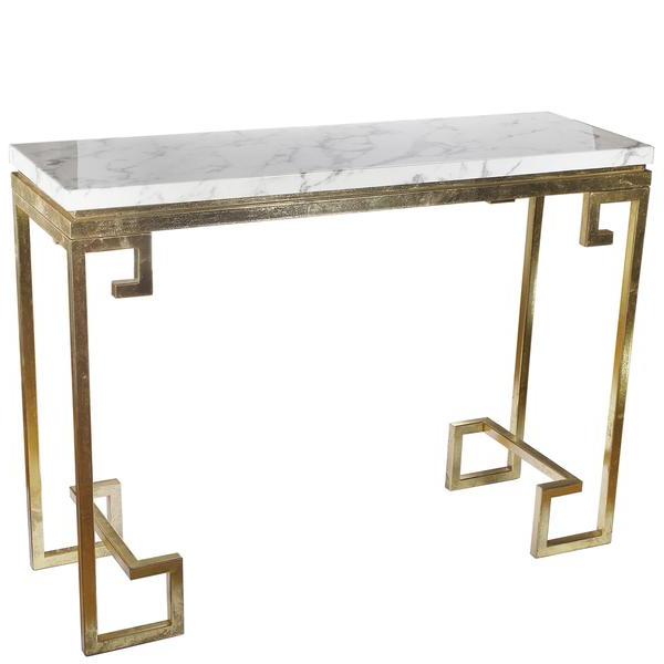 Marble Top Console Table – Betinfon.club Inside Best And Newest Parsons White Marble Top & Brass Base 48X16 Console Tables (Gallery 11 of 20)