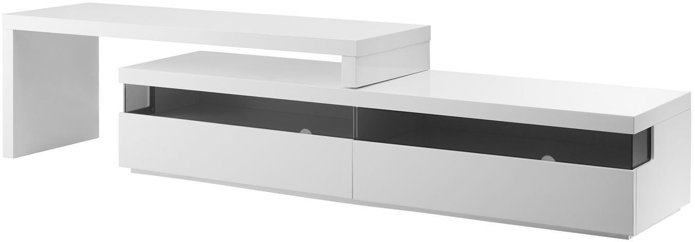 Marco White Modern Tv Stands (View 6 of 20)