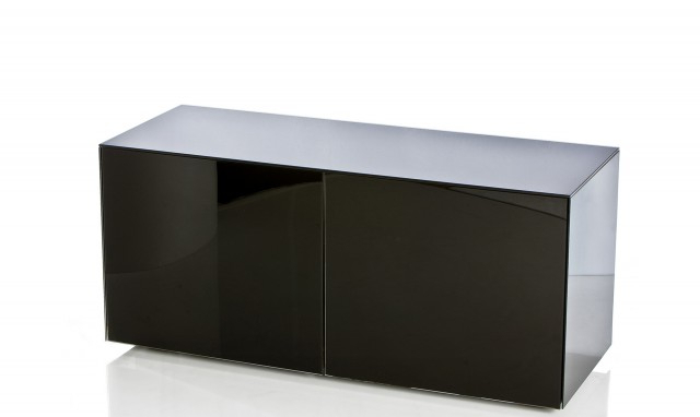 "Marvel – 55"" Black High Gloss Tv Unit – Fishpools Regarding Most Up To Date High Gloss Tv Cabinets (Gallery 18 of 20)"