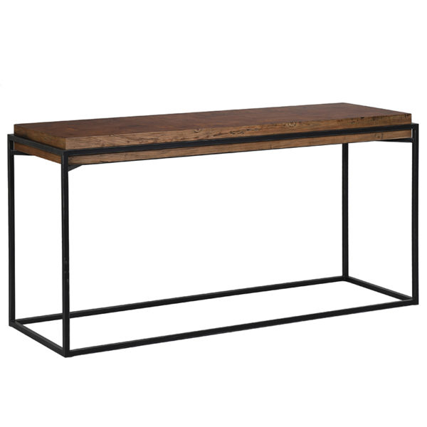Metal Frame Console Table – Charlesworthy Throughout Recent Frame Console Tables (Gallery 2 of 20)