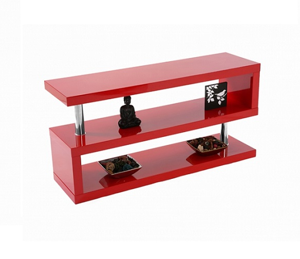 Miami High Gloss Modern Red Tv Stand With Regard To Latest Red Tv Stands (View 7 of 20)