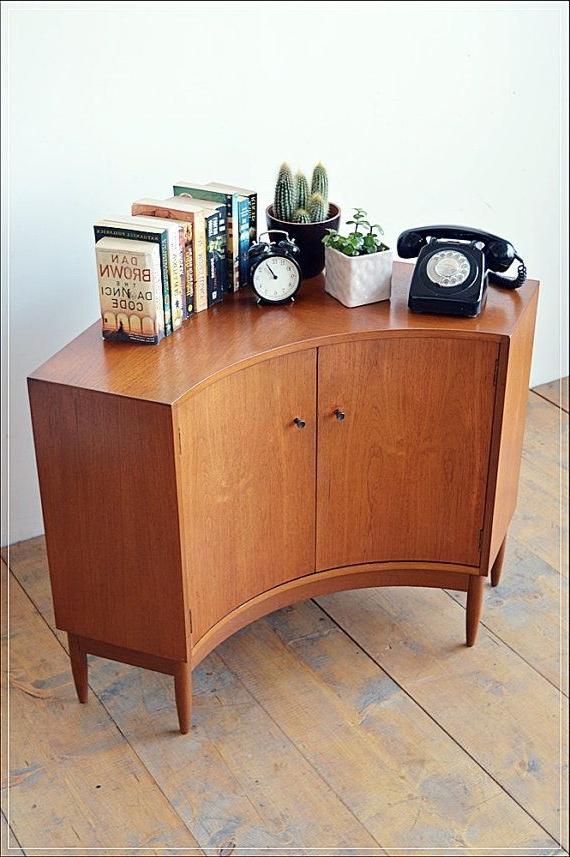 Mid Century Furniture Regarding Retro Corner Tv Stands (View 7 of 20)