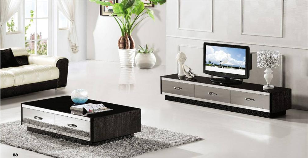 Mirrored Furniture Tv Unit Within Favorite French Style Furniture Coffee Table,tv Cabinet 2 Piece Set, Modern (View 10 of 20)