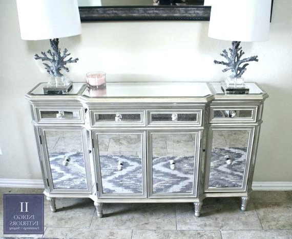 Mirrored Tv Stand 65 Inch Console Ideas Target End Tables Regarding Popular Mirrored Tv Cabinets Furniture (View 12 of 20)