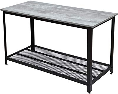 Mix Agate Metal Frame Console Tables Inside Well Known Amazon: Tilly Lin 2 Tier Faux Marble Coffee Table, Water (View 9 of 20)