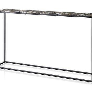 Mix Agate Metal Frame Console Tables Throughout Best And Newest Black Metal Agate Console Table – Products, Bookmarks, Design (Gallery 4 of 20)