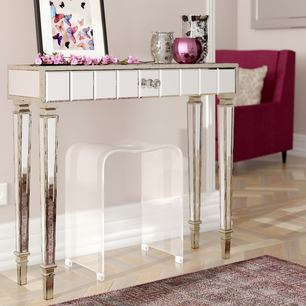 Mix Agate Metal Frame Console Tables With Regard To Popular Antique Silver Console Table (View 13 of 20)