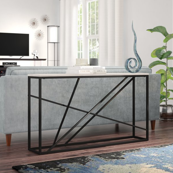 Mix Patina Metal Frame Console Tables In Most Recent Long Skinny Console Table (View 9 of 20)