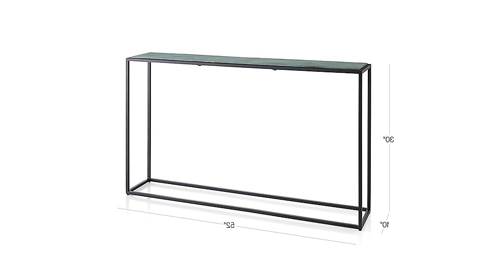 Mix Patina Metal Frame Console Tables Regarding Popular Mix Tables (Gallery 4 of 20)