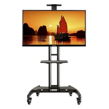 Mobile Tv Stand With Mount For Led Lcd Plasma Flat Panel Screens And Throughout Most Up To Date Tv Stands With Mount (View 4 of 20)