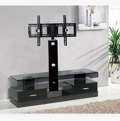 Modern Black Tv Stand With Mount Tv Stand – Furnish Ideas With Regard To Favorite Modern Tv Stands For Flat Screens (View 7 of 20)