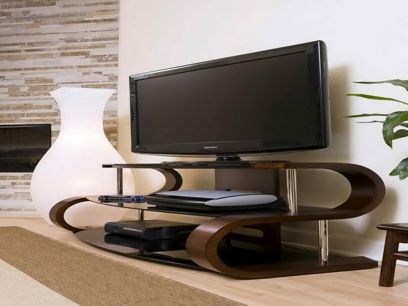 Modern Contemporary Tv Stands Pertaining To Recent Best Mirror Design Ideas To Inspire Your Home's New Look In  (View 9 of 20)
