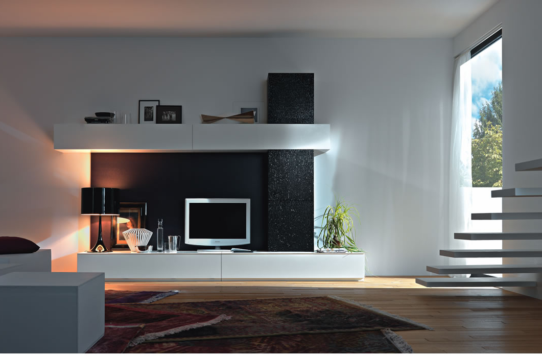 Modern Contemporary Tv Wall Units — All Contemporary Design : Modern For Most Popular Contemporary Tv Cabinets (View 13 of 20)