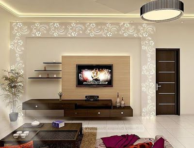 Modern Design Tv Cabinets Inside Most Popular Modern Tv Cabinets Designs 2018 2019 For Living Room Interior Walls (Gallery 10 of 20)