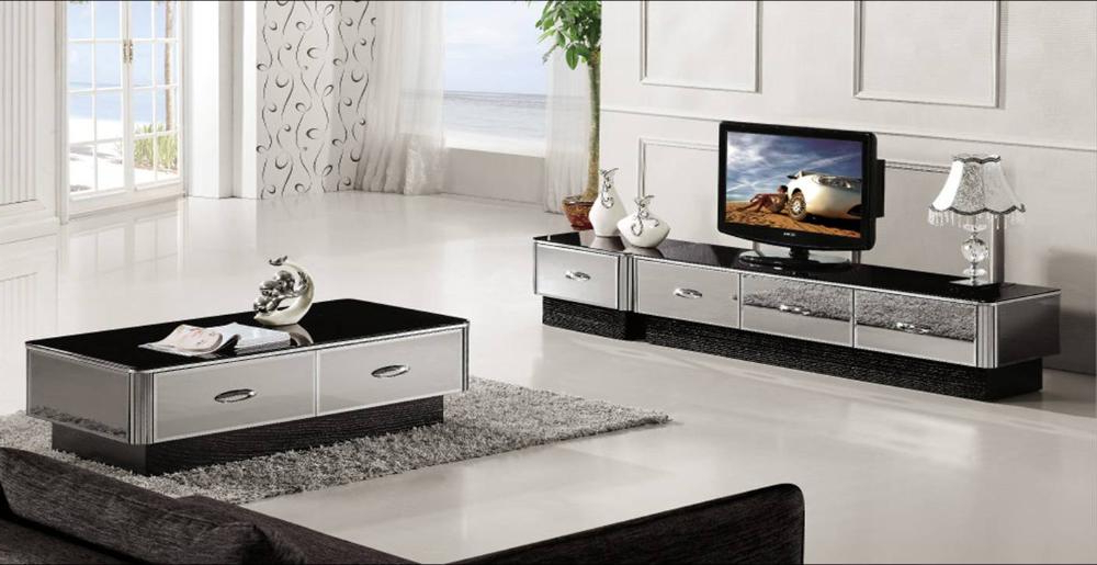 Modern Gray Mirror Modern Furniture, Coffee Table,tv Cabinet And Throughout 2017 Mirrored Furniture Tv Unit (View 12 of 20)