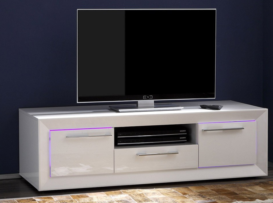 Modern Italian Tv Stand Salina Smalllc Mobili – Tv Stands In Most Popular Small Tv Stands (View 8 of 20)