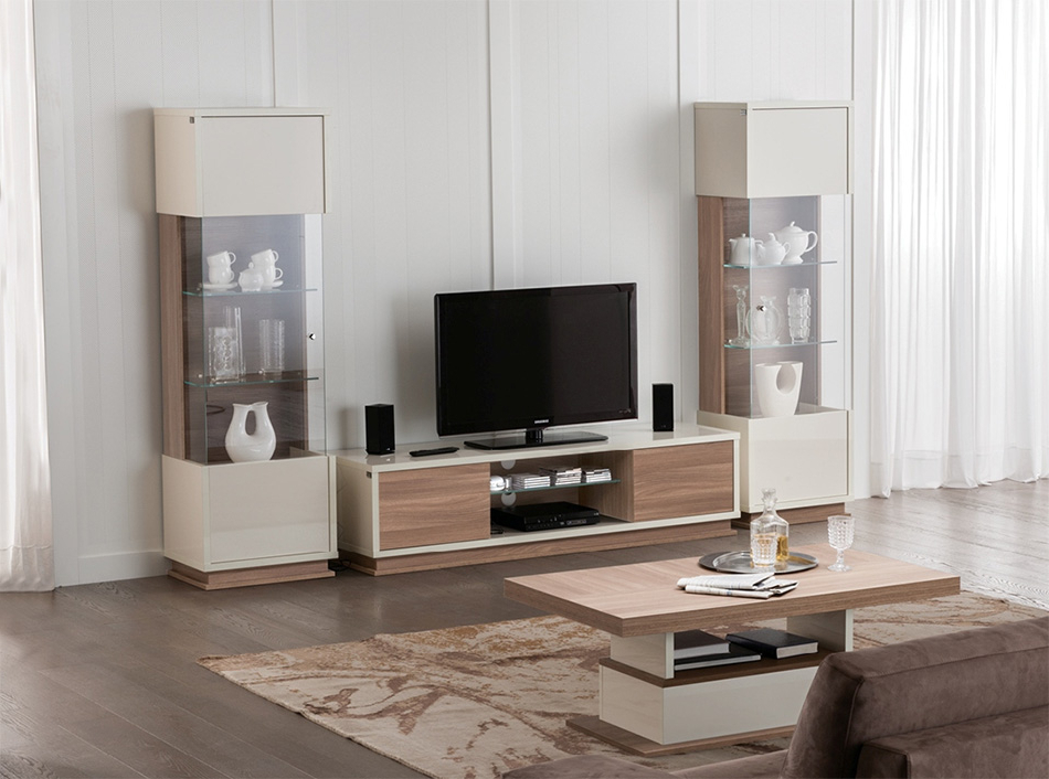 Modern Italian Tv Stand / Wall Unit Evolutionstatus In Most Recently Released Tv Stand Wall Units (View 5 of 20)