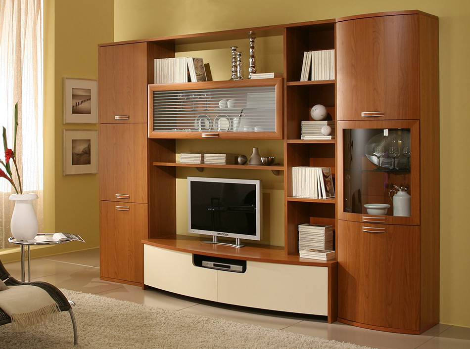 Modern Italian Wall Unit / Entertainment Center Ja 1013 Throughout Newest Tv Entertainment Wall Units (View 7 of 20)