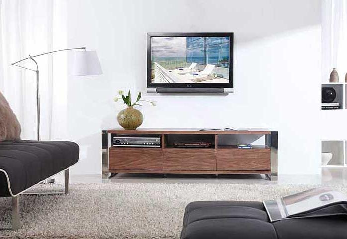 Modern Light Walnut Tv Stand Bm (View 7 of 20)