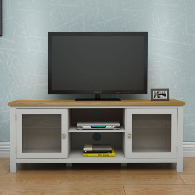 Modern Oak Tv Unit Solid Wood Corner Tv Entertainment Stand Shelf Regarding Best And Newest Contemporary Oak Tv Cabinets (View 13 of 20)